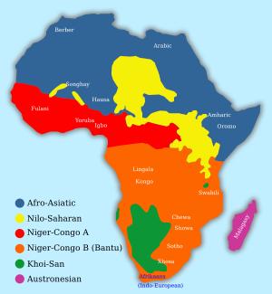 Języki afrykańskie fo wikipedia