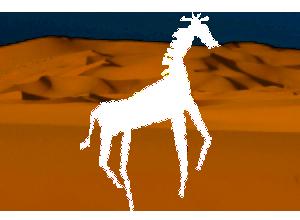 pustynia-zyrafa