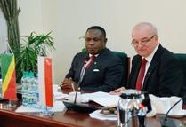 Spotkanie z delegacją Republiki Konga